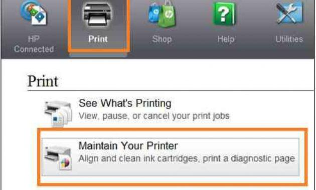cara cleaning printer hp deskjet 2