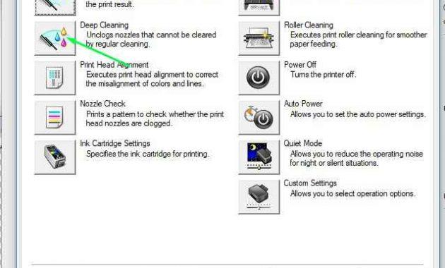 cara head cleaning printer canon ip 2770 4