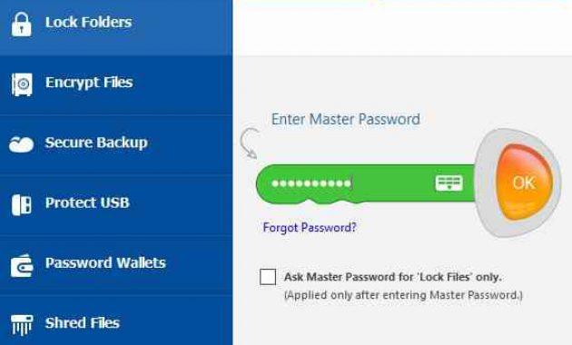 cara menggunakan folder lock 5
