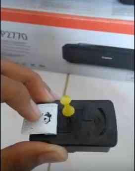 cara mengisi tinta printer 3