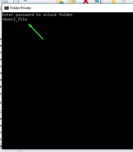 cara mengunci folder di windows 11