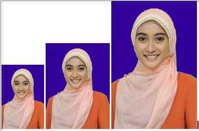 cara membuat pas foto ukuran 2x3 3x4 4x6 di photoshop 10