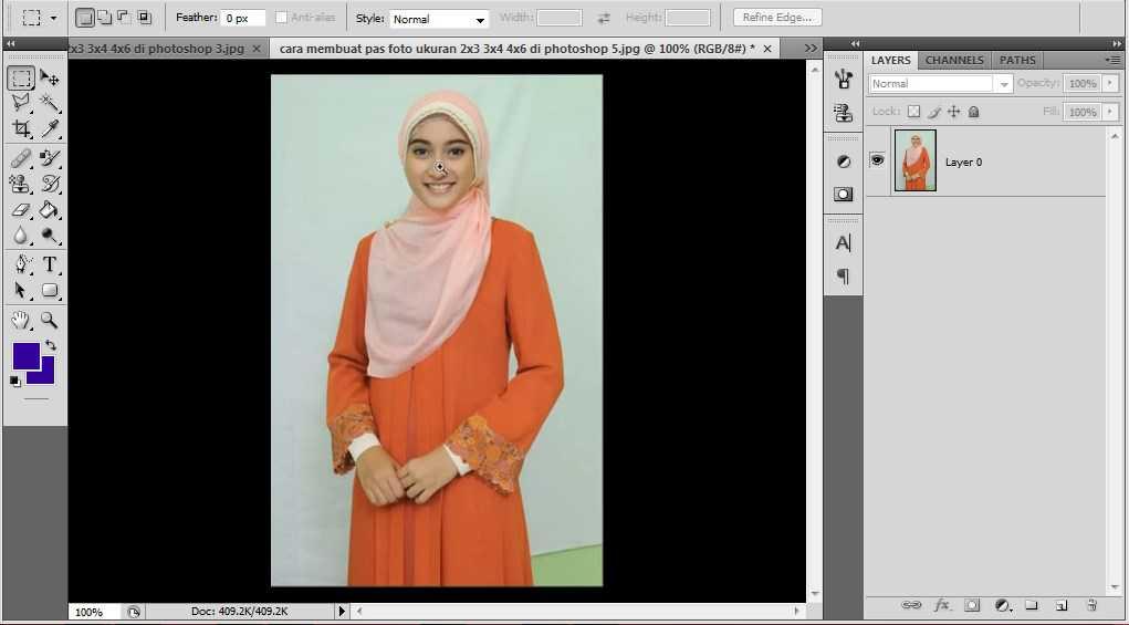 Cara Buat Pas Foto 3x4 Di Photoshop » tiomemwahel.tk