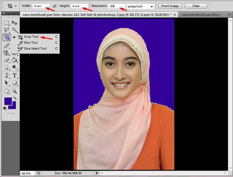 Edit Foto Ukuran 4x6 Di Photoshop - Berbagai Ukuran
