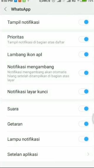 cara mengatasi notifikasi line tidak muncul 3