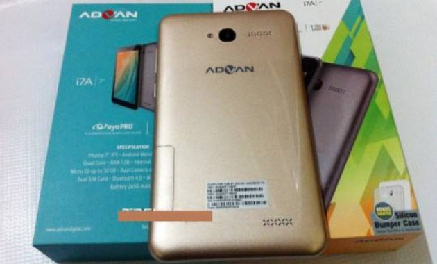 Cara Flash Advan I7a Ram 2 GB + Firmware
