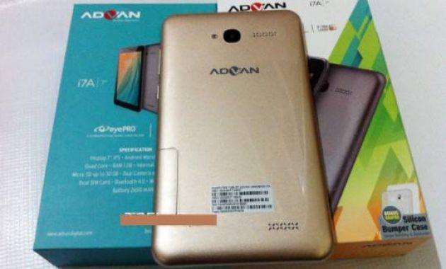 Cara Flash Advan I7a Ram 2 GB + Firmware
