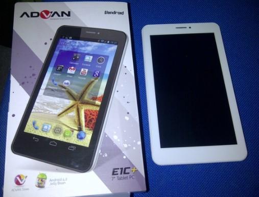 Cara Flash advan E1c Plus P7029 & P7019 + Firmware