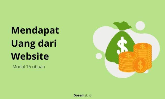 Mendapat Uang dari Website